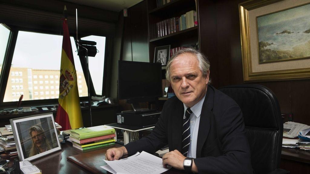El magistrado del TC, Luis Ignacio Ortega