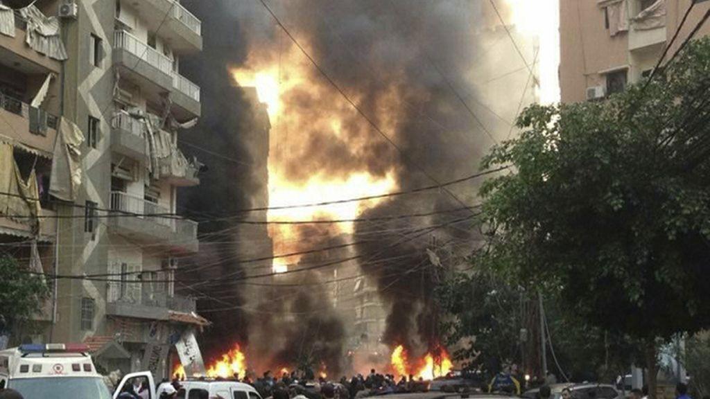 Atentado con coche bomba en Beirut