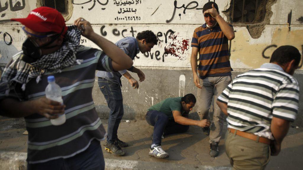 Enfrentamientos en Egipto