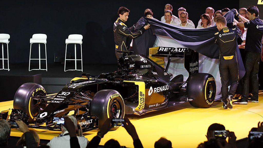 Renault levanta el telón a la temporada 2016 (03/02/2016)