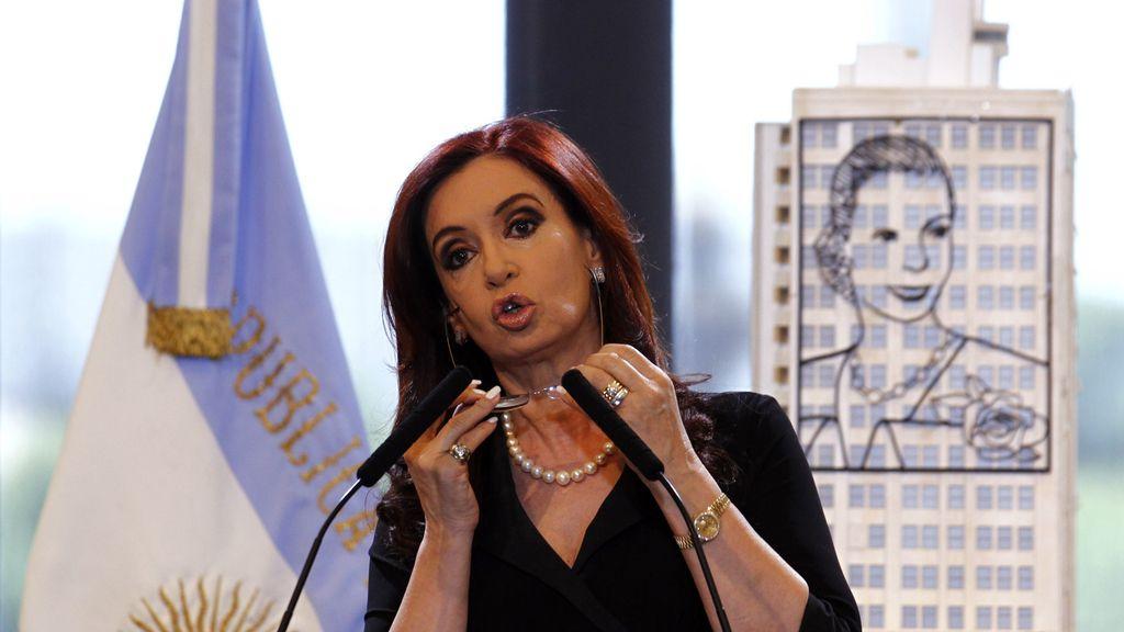 Crisna Fernández de Kirchner, tras el anuncio de que padece un carcinoma papilar en la glándula tiroides