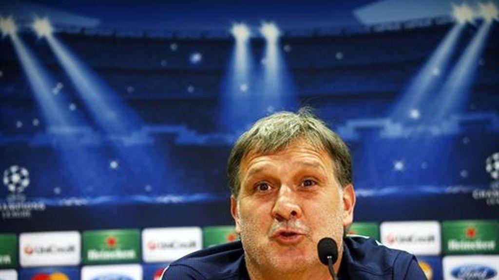 El entrenador del FC Barcelona, Gerardo 'Tata' Martino