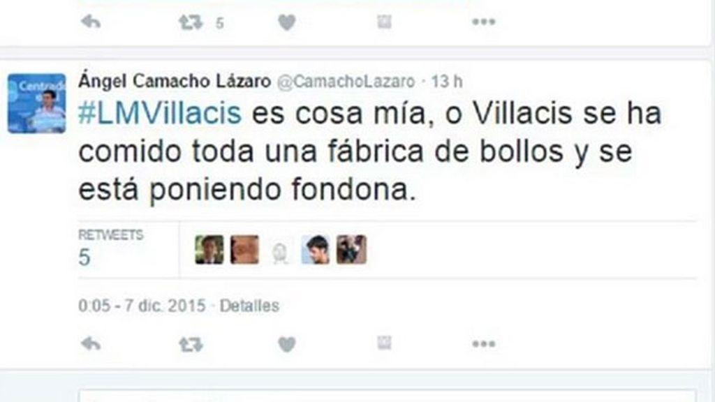 "El secretario general del PP de Galapagar llama ""fondona"" a Villacís (C's)"
