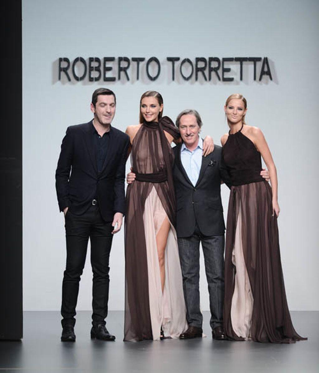 El desfile de Roberto Torreta, en fotos