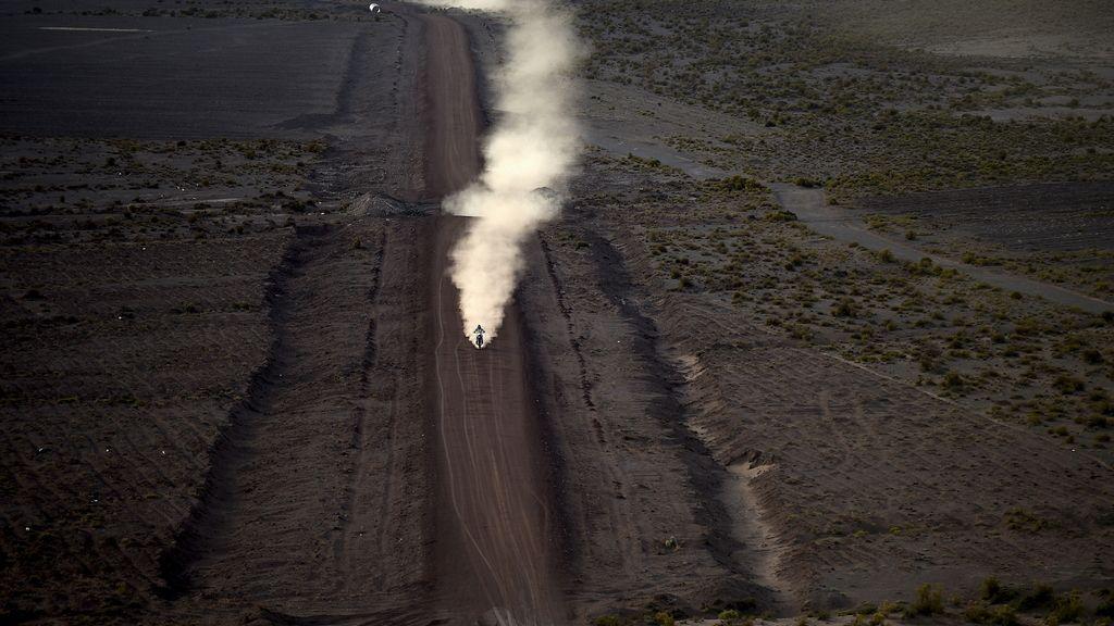 La soledad y crudeza del desierto de Bolivia en el Dakar Rally 2016 (10/01/2016)