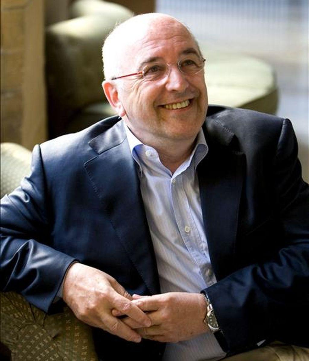 El vicepresidente de la Comisión Europea, Joaquín Almunia. EFE/Archivo
