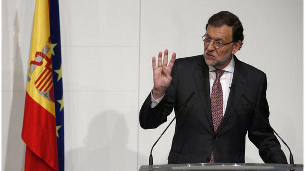 Rajoy expone los ejes del programa electoral del PP