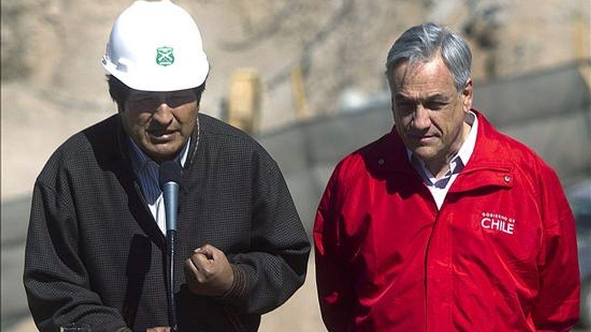 En una entrevista a los medios estatales, la autoridad anunció el viaje a Brasil del mandatario y dejó entrever la posibilidad de que se produzca un encuentro bilateral con el presidente de Chile, Sebastián Piñera. EFE/Archivo