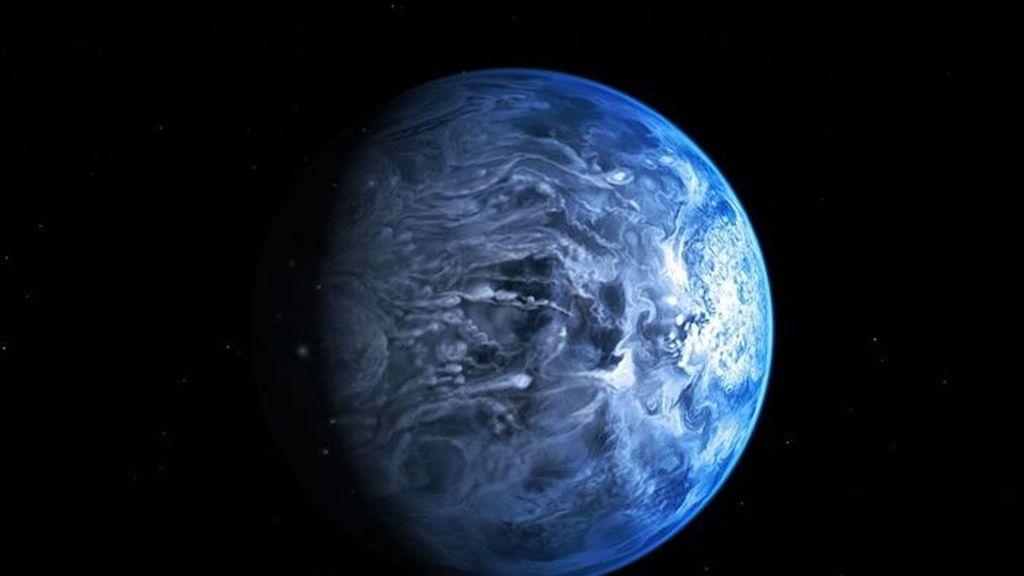 El color real de un planeta fuera del Sistema Solar