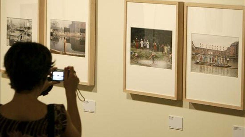 Las fotos hechas por el fotógrafo italiano entre 1950 y 60 podrán ser vistas por primera vez en España. La exposición en las salas del BBVA, dentro de Photoespaña 2009. VÏDEO ATLAS