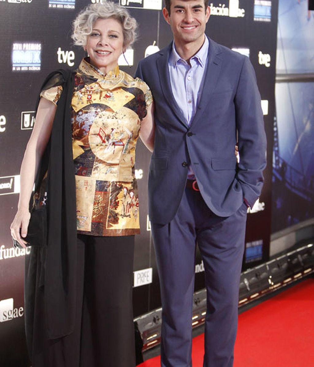 Los actores Daniel Muriel y Kiti Manver