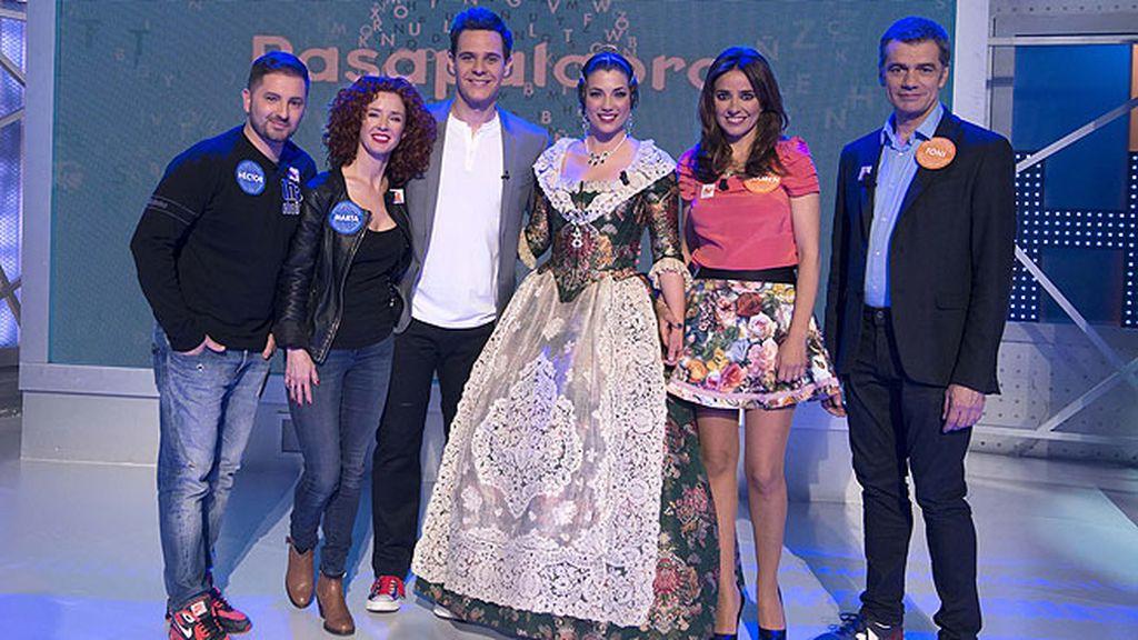 Carmen Alcayde, el expiloto de motociclismo Héctor Faubel, Toni Cantó y Marta Belenguer han ayudado a los concursantes