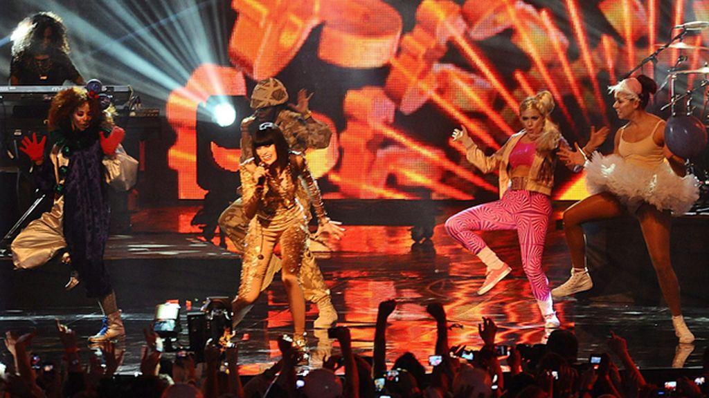 Lady Gaga, reina de los MTV