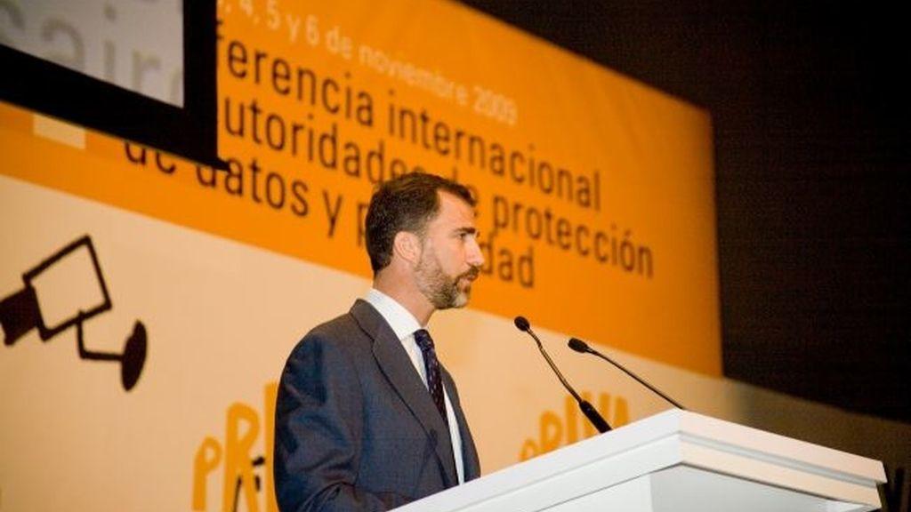 Los Príncipes en la Conferencia Internacional de Protección de Datos y privacidad