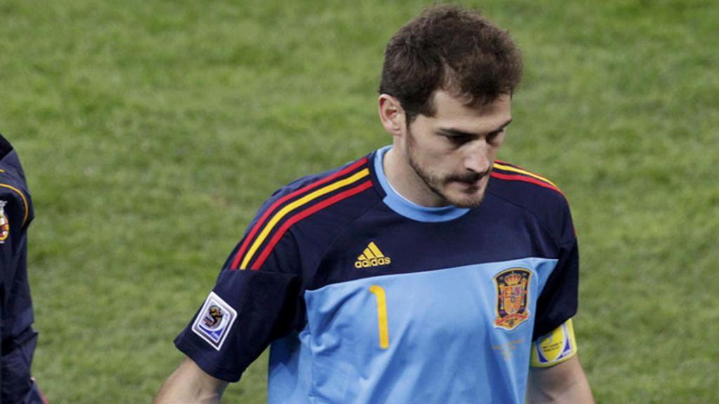 Casillas, decepcionado