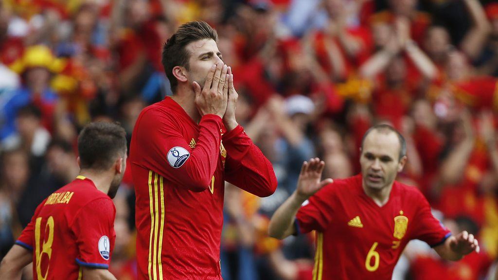 La Roja,Gerard Pique,Eurocopa 2016