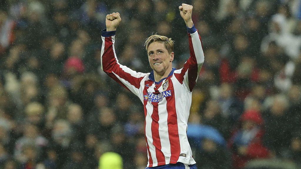 Fernando Torres marca dos goles en el Santiago Bernabéu