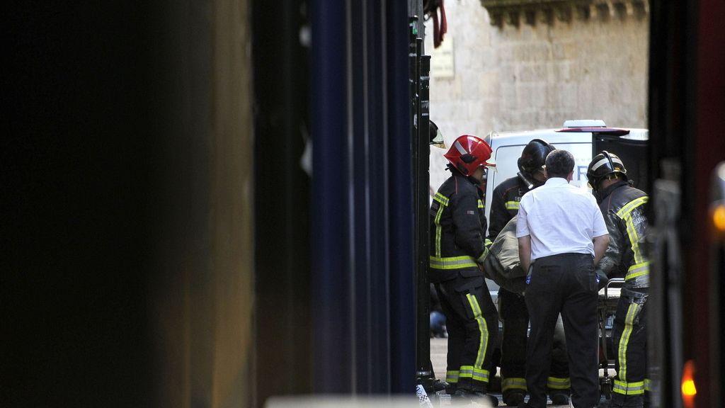 Fallece una persona tras una explosión de gas en una vivienda de Pamplona