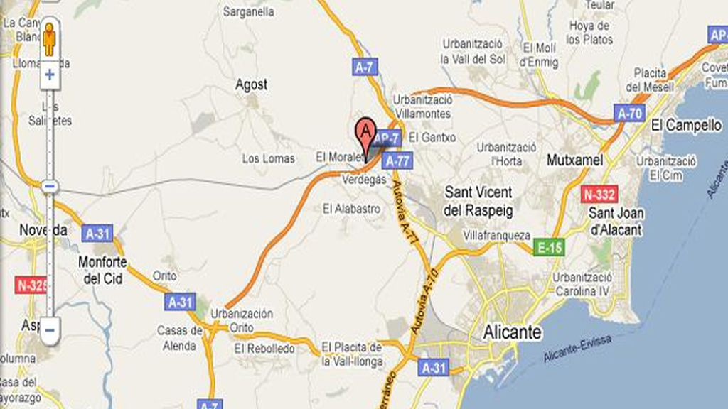 Hallan sin vida a un niño de dos años en un fosa séptica en Alicante