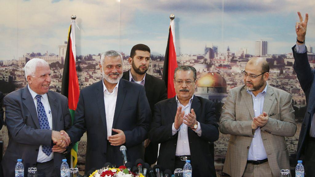Acuerdo de paz entre Hamas y la OLP