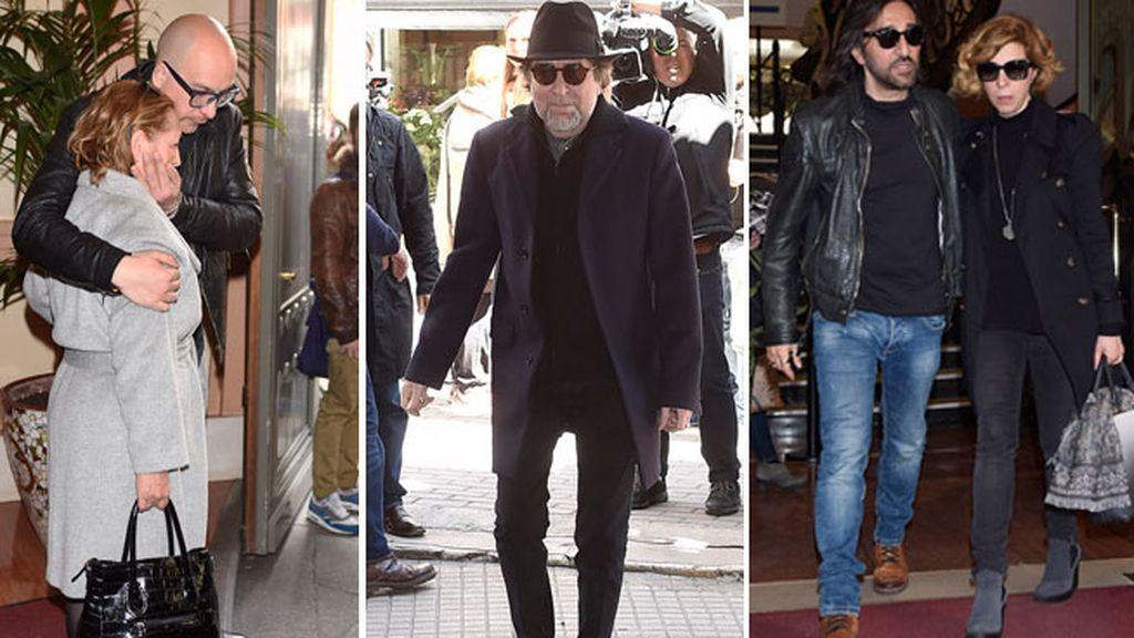 Último adiós al cantante en la SGAE de Madrid