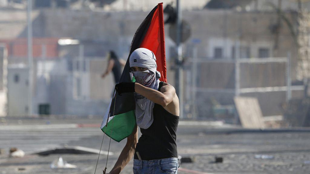 Protestas palestinas en Gaza en el primer viernes de Ramadán