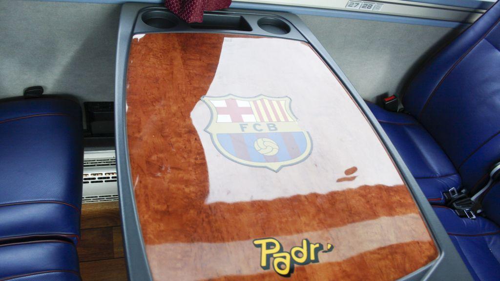 El flamante nuevo autobús del Barça