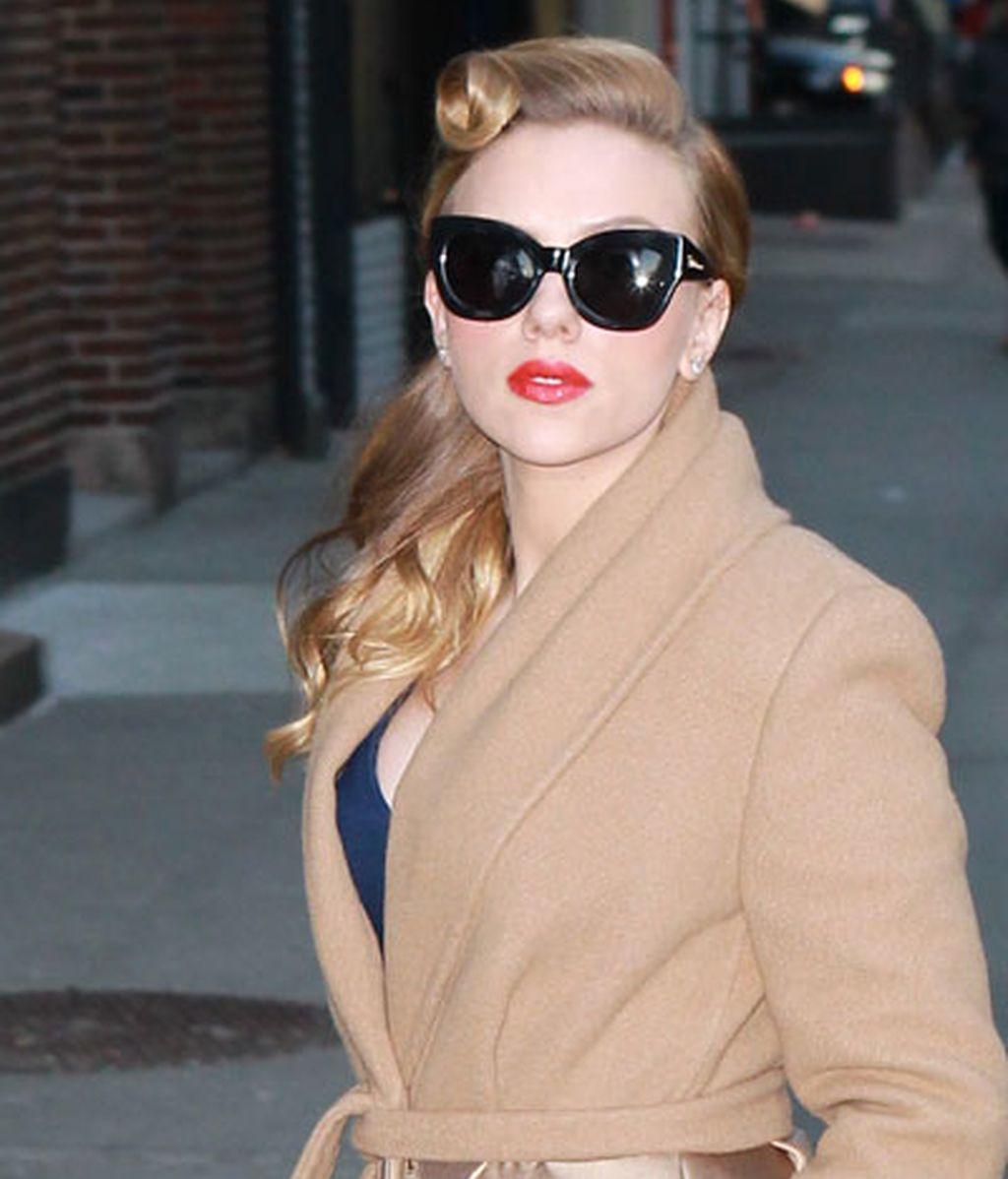 Scarlett Johansson: diva años 50