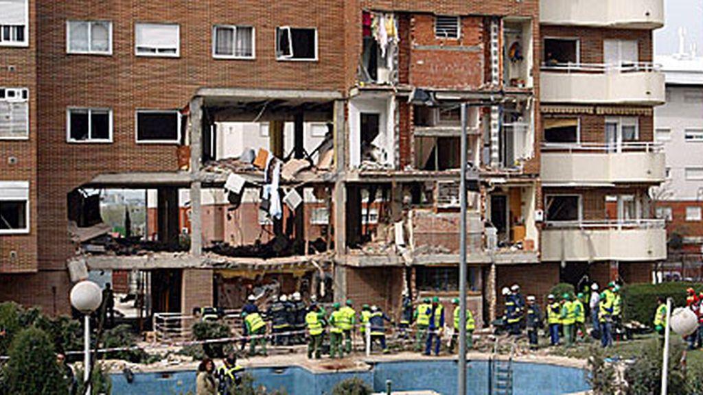 Explosión piso Leganés