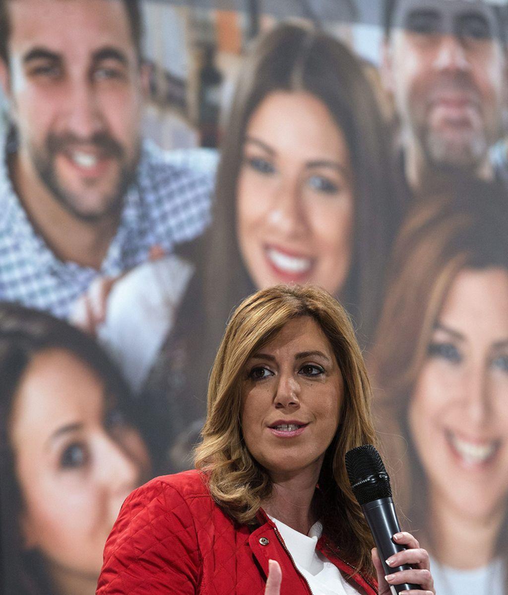 Mitin de Susana Díaz en Málaga