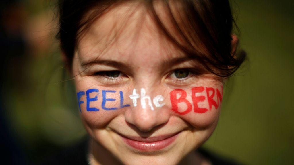 'Siente el Bernie'