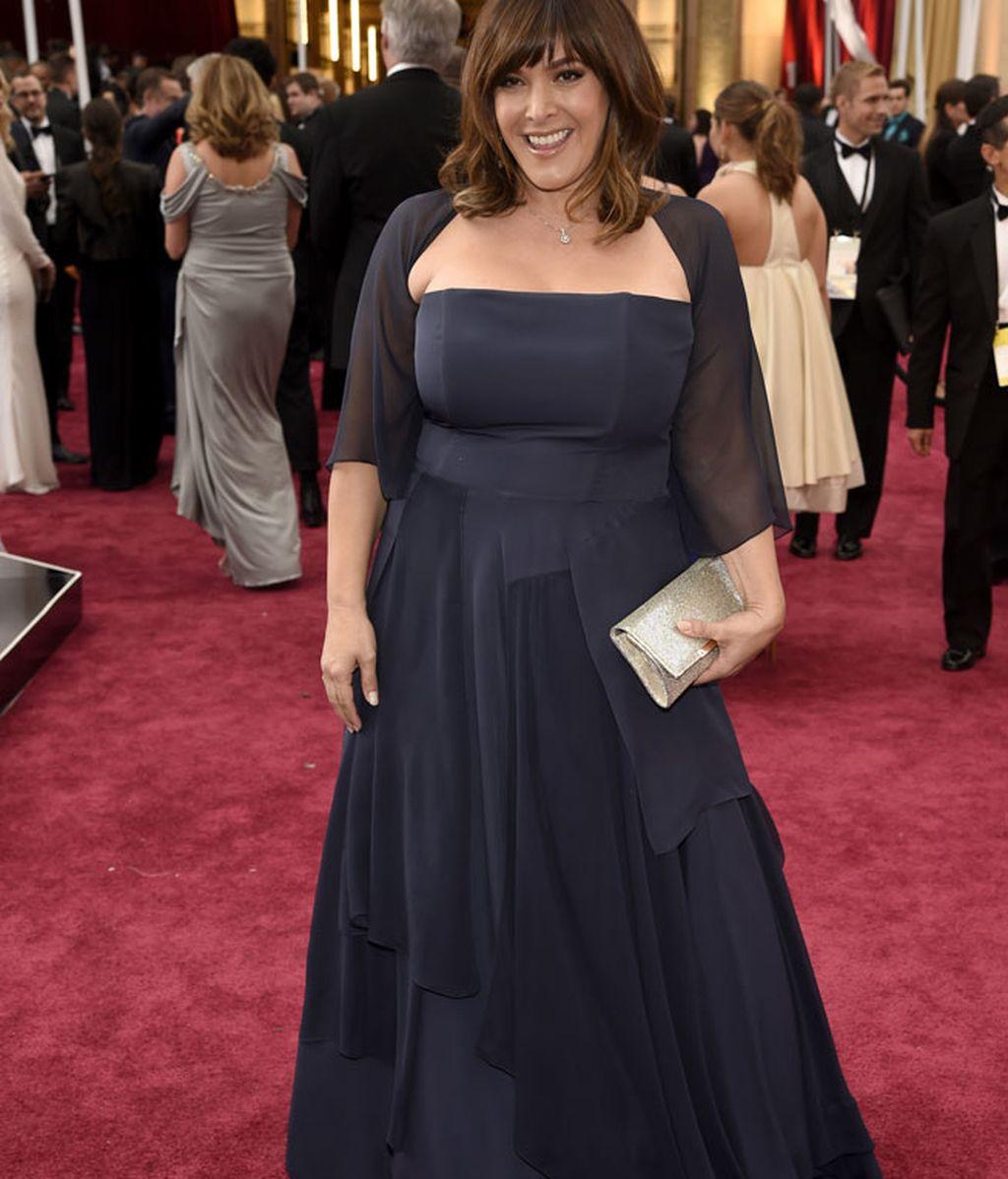 Danielle Brisebois en la alfombra roja
