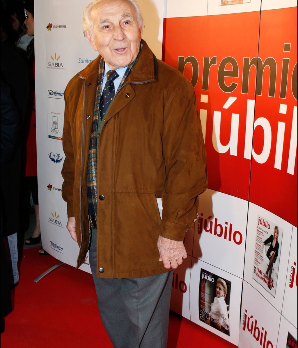 Imagen de archivo del actor Pedro Peña