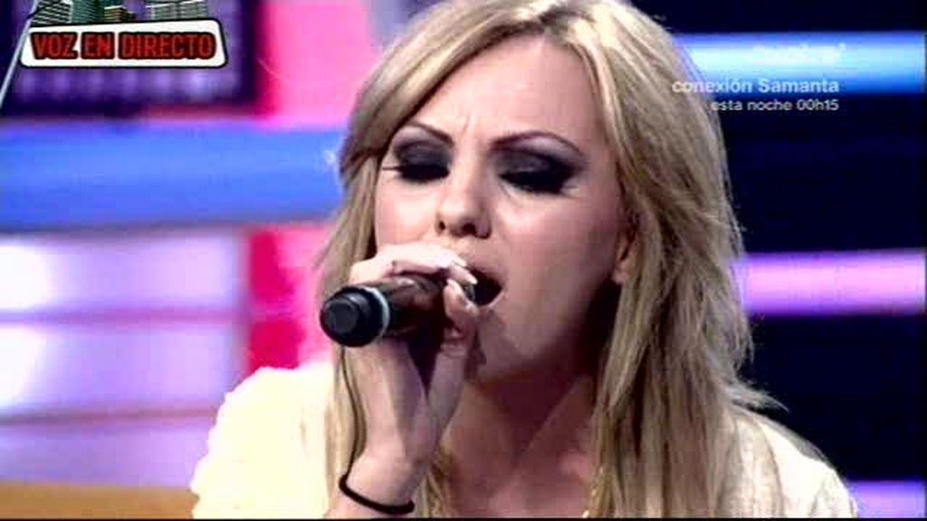 Alexandra Stan canta a capella en TLJ