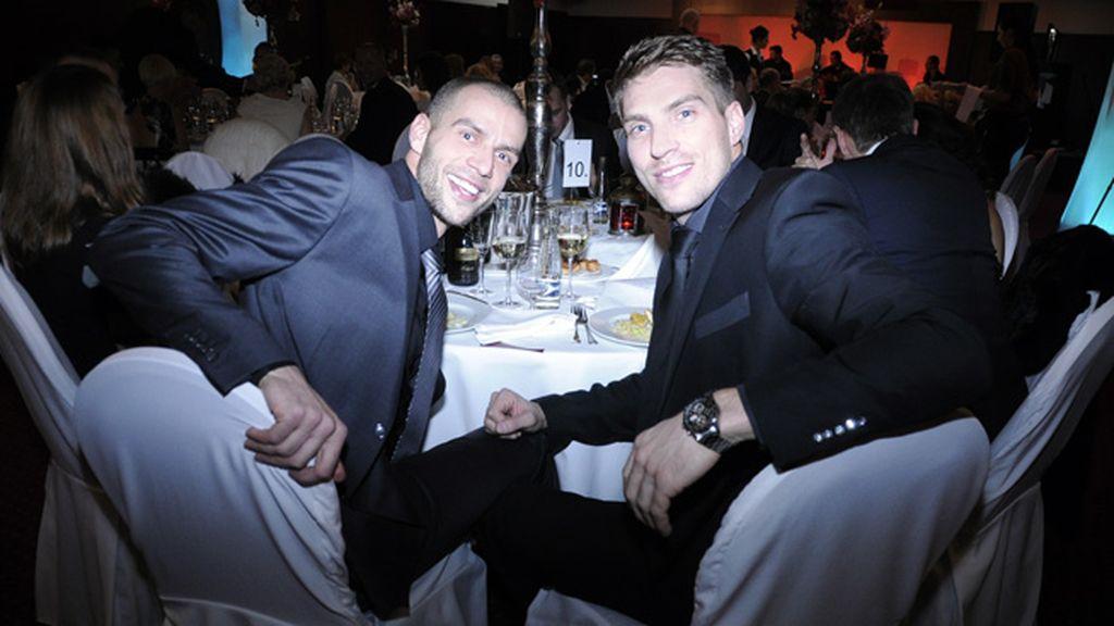 La cena de Plamienok también contó con la presencia de deportistas eslovacos