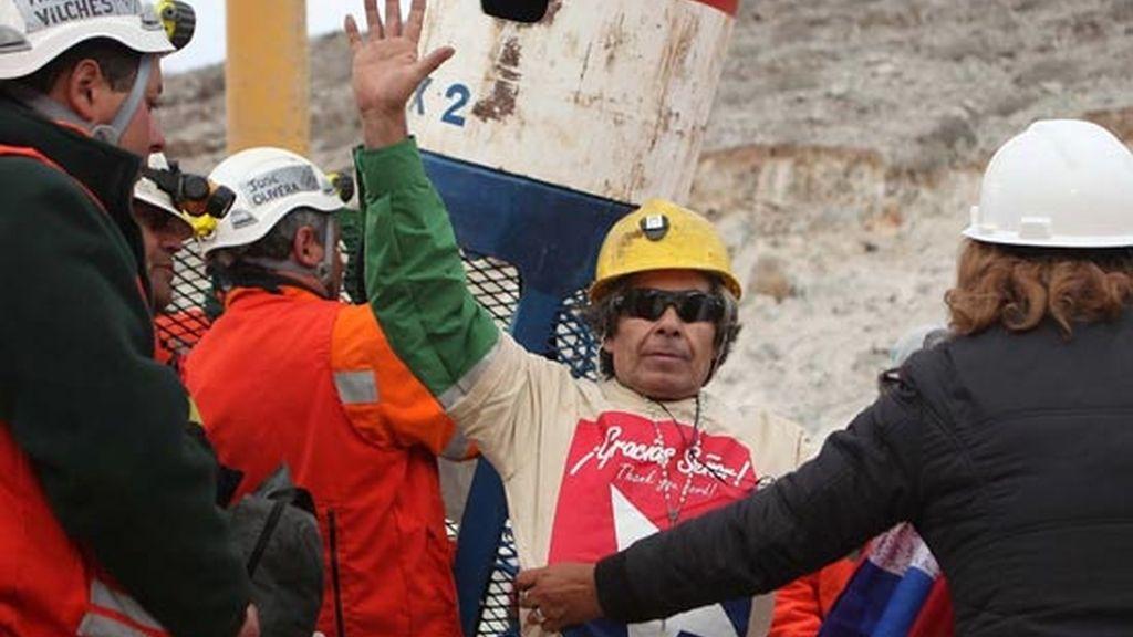 Mario Gómez, el minero más veterano