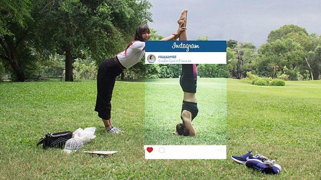 El lado oculto de las fotos de Instagram