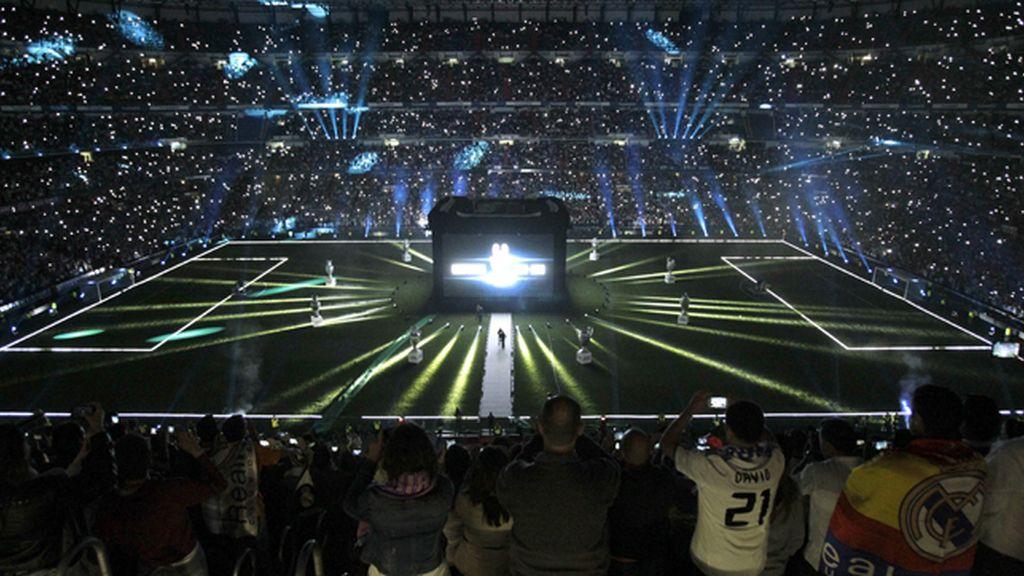 La espectacular imagen del Bernabéu, preparado para recibir a 'la Décima'