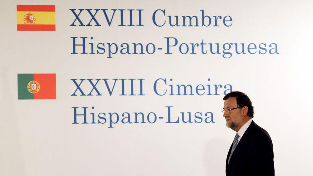 Rajoy, en Baiona
