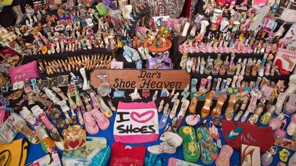 Darlene y sus 12.500 zapatos