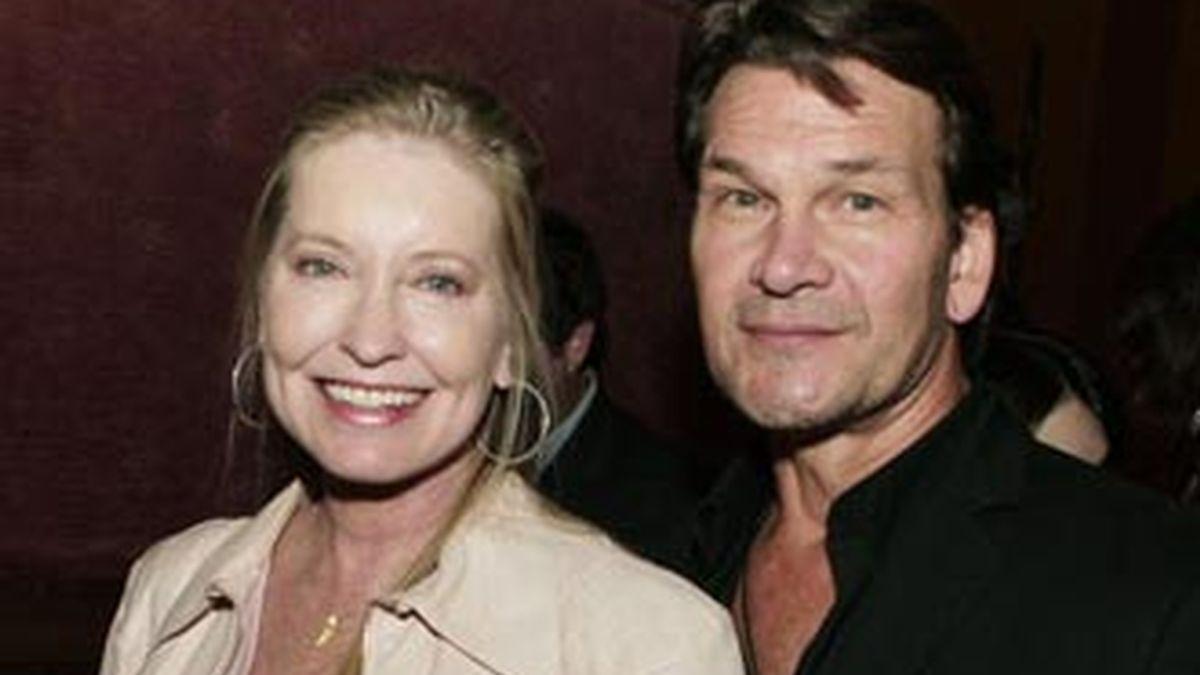 Lisa Niemi y Patrick Swayze estuvieron casados durante 34 años hasta la muerte del actor. Foto archivo