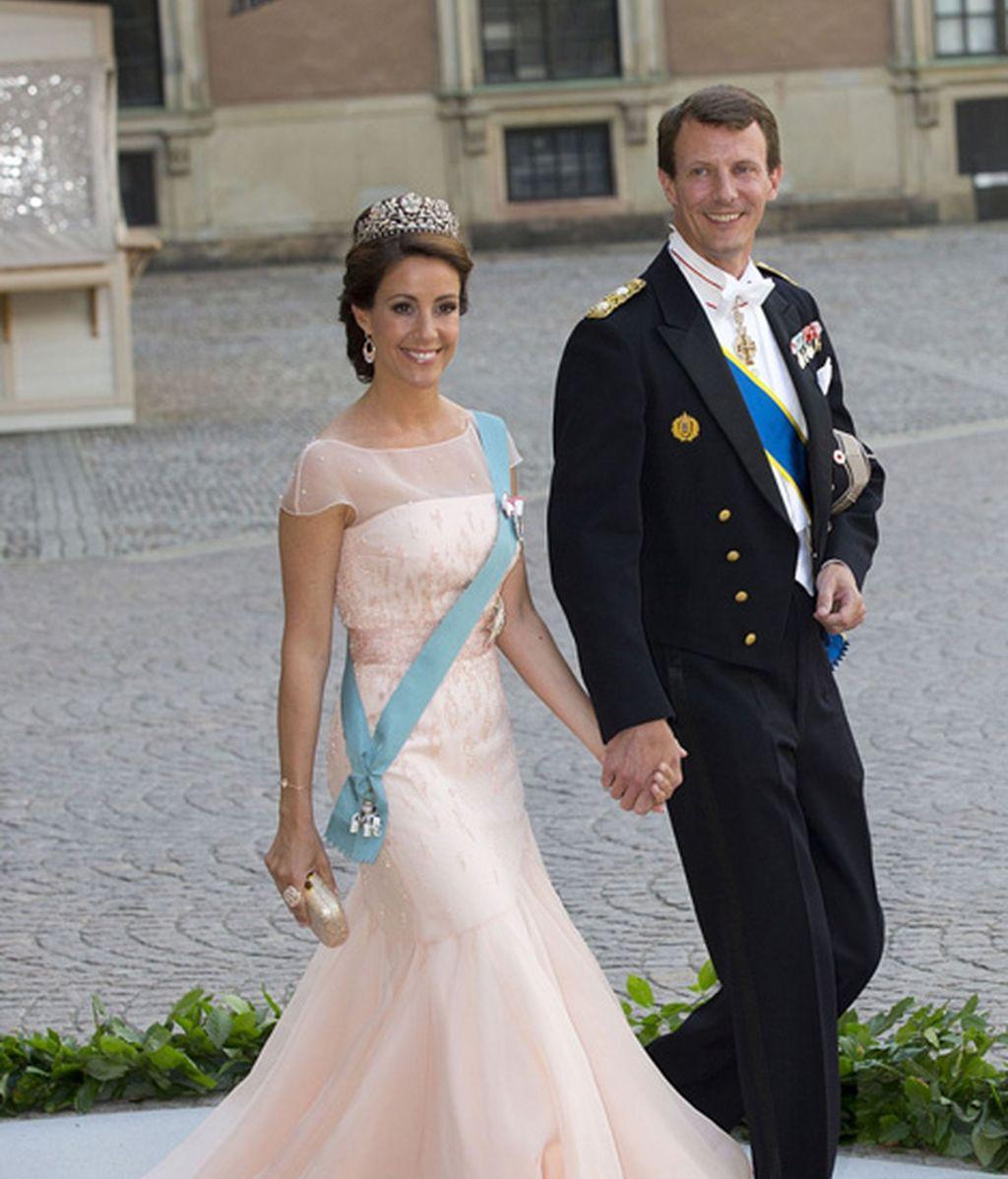 El hermano de Federico de Dinamarca, Joaquín, y su esposa, Marie