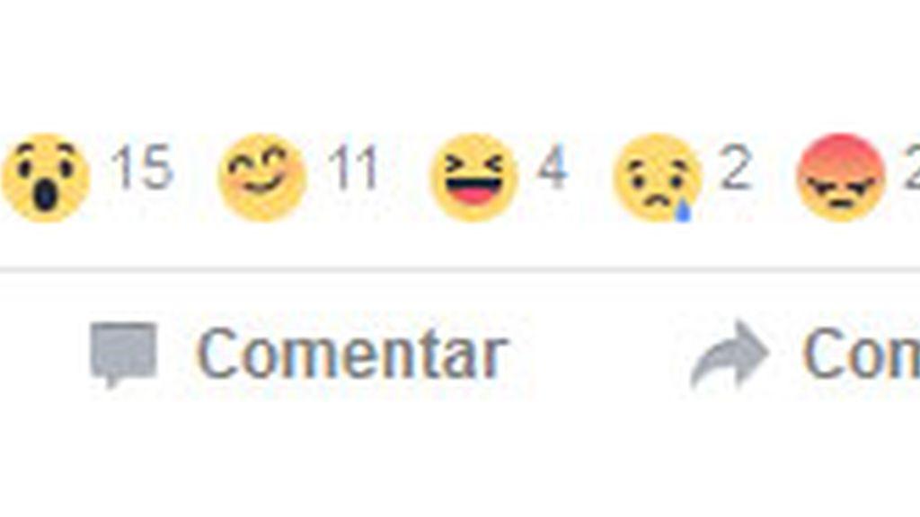 Los nuevos iconos de Facebook