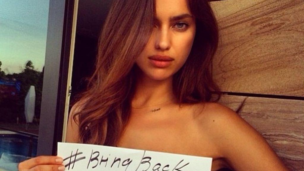 El 'selfie' más solidario de Irina Shayk