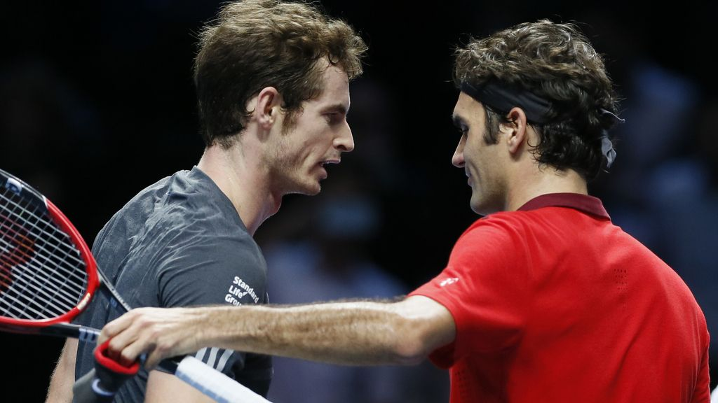 Roger Federer y Andy Murray