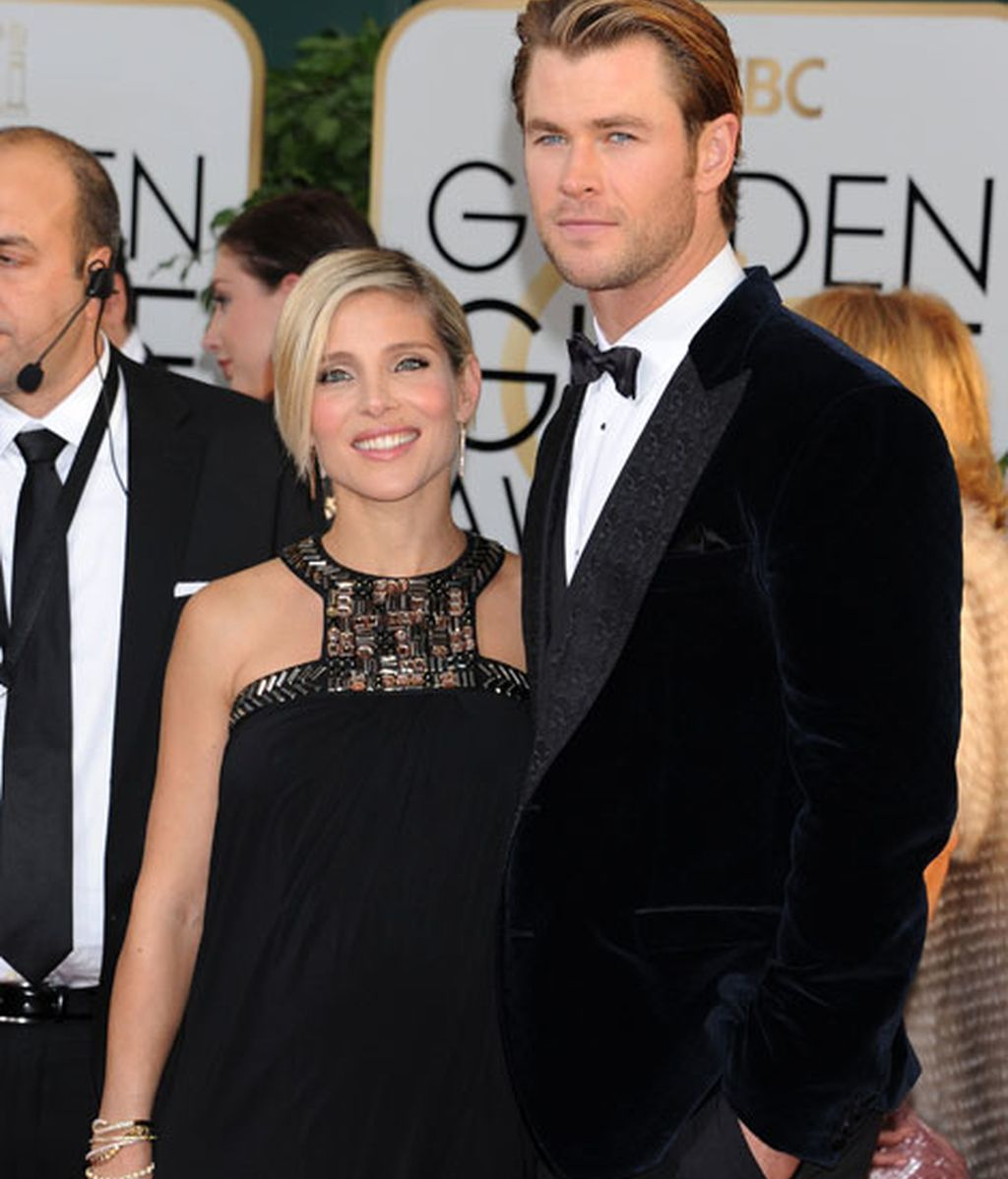 Elsa Pataky, junto a su marido Chris Hemsworth, luce un elegante Paul K