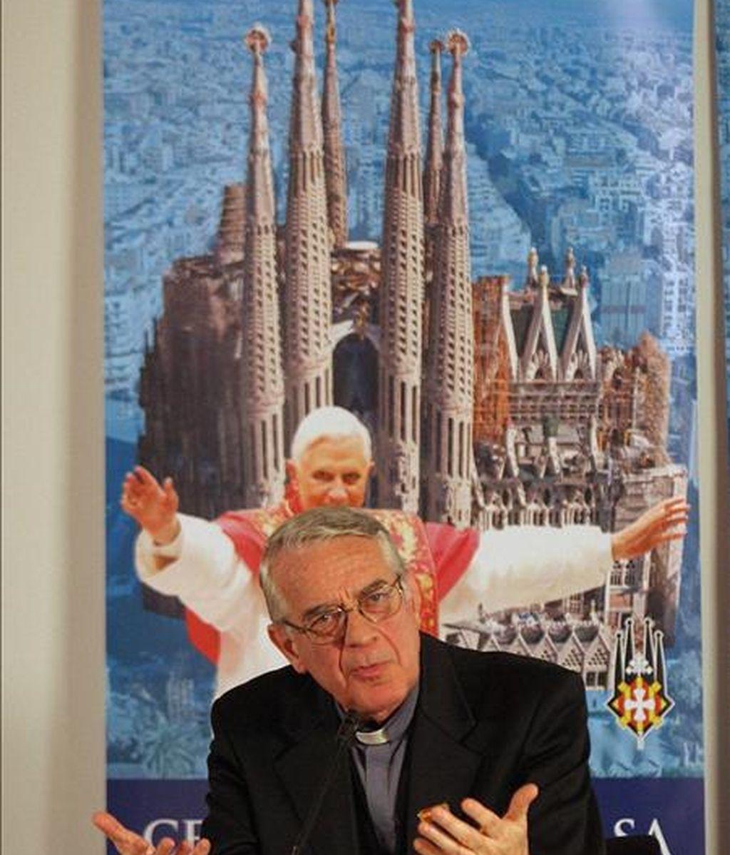 El portavoz vaticano, Federico Lombardi. EFE/Archivo