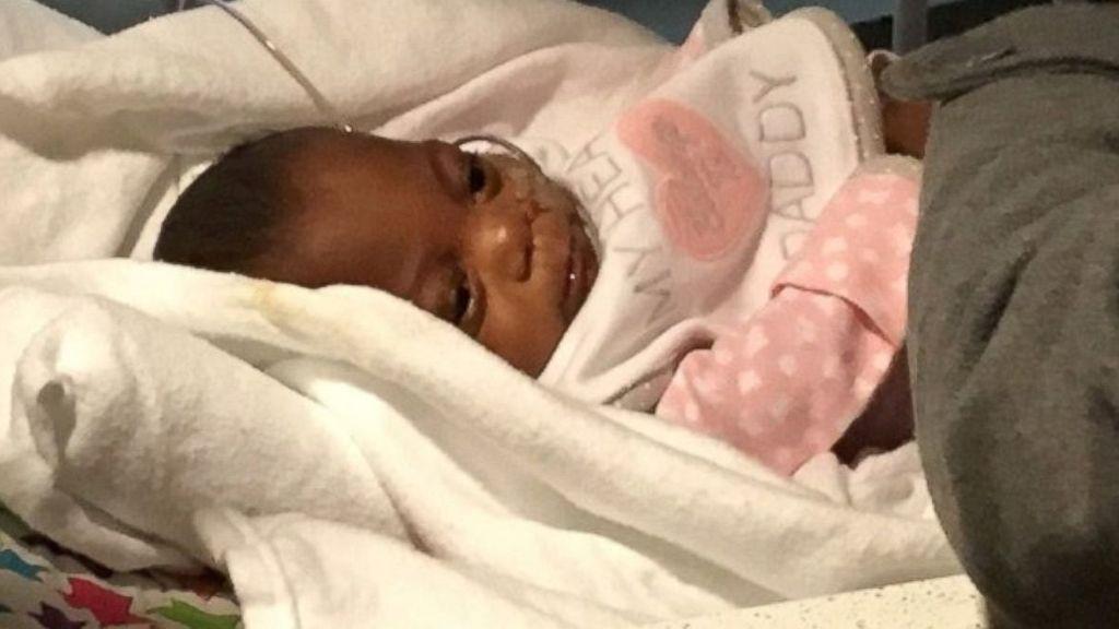 La bebé más pequeña del mundo