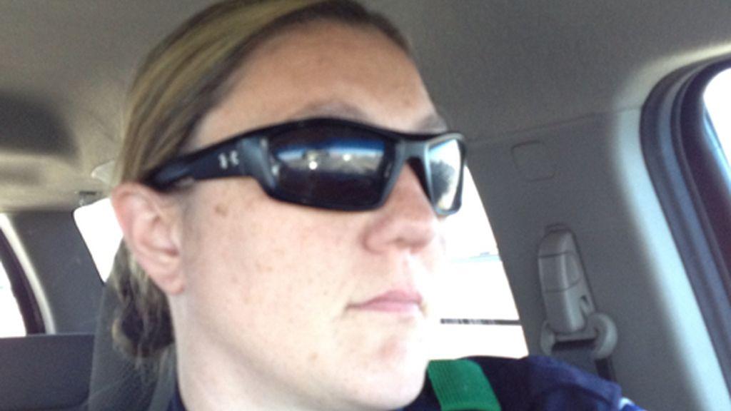 Misty McBride, policía herida en el tiroteo de Dallas.