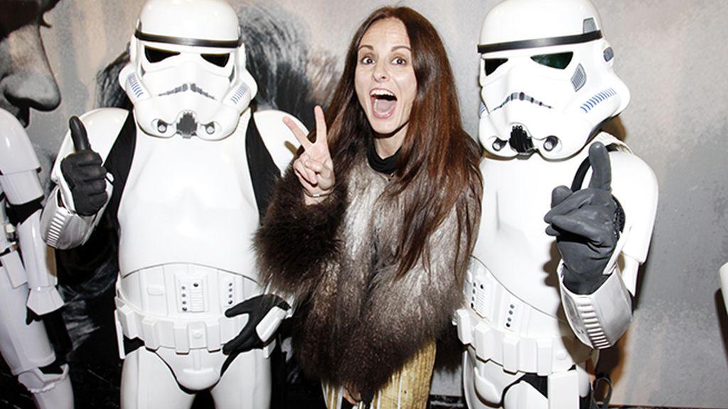 """Ana Locking, toda una fan de """"Star Wars"""", muy emocinada por ver la nueva entrega de la saga"""